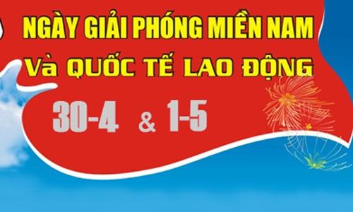 THADACO thông báo lịch nghỉ lễ 30/4 và 1/5 năm 2017