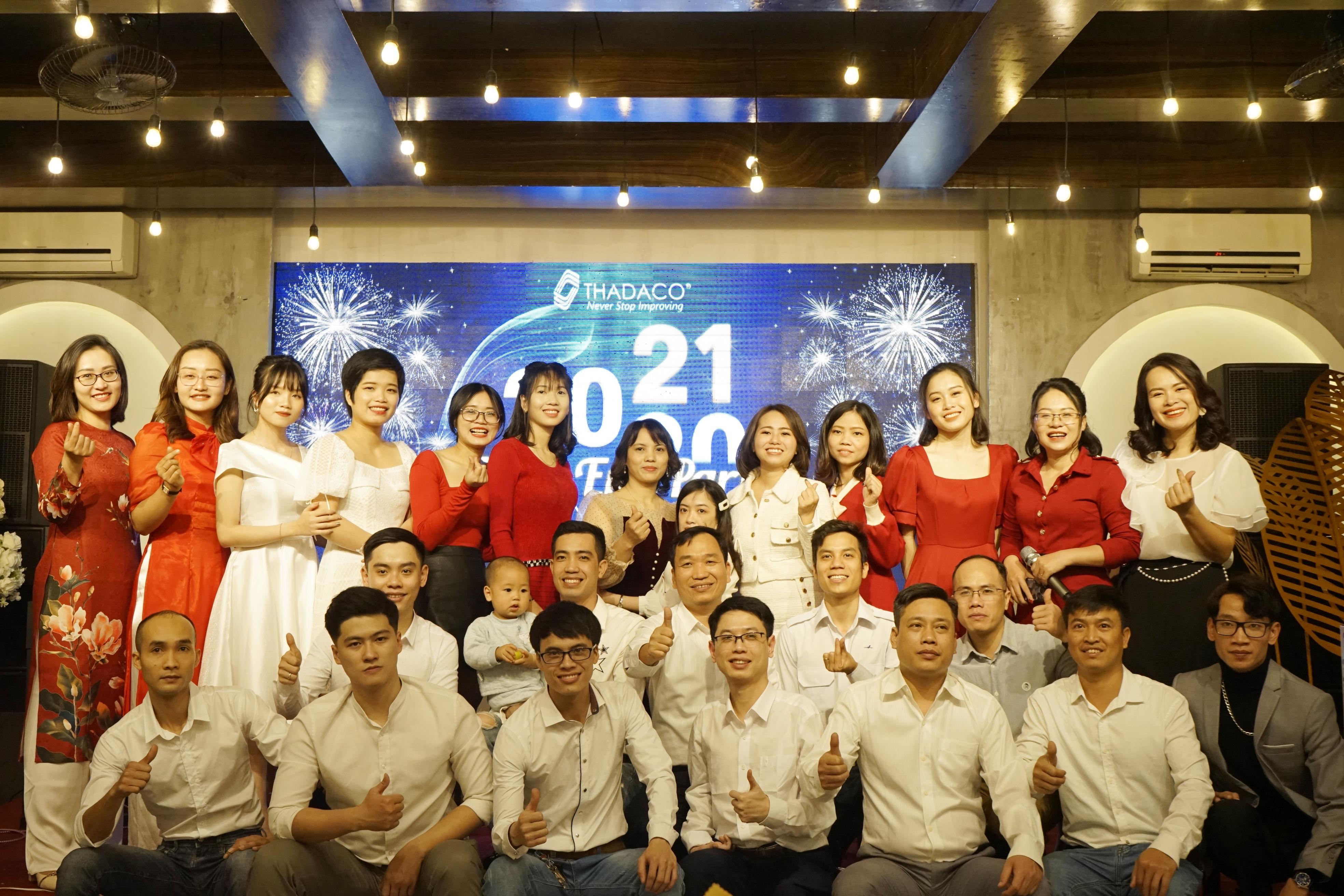 Thadaco Hà Nội tưng bừng mừng tất niên 2021