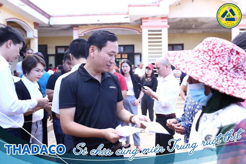 Thadaco: Hướng về miền Trung thân yêu