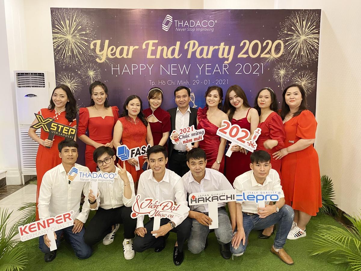 Thadaco TPHCM tưng bừng tiệc tất niên 2021