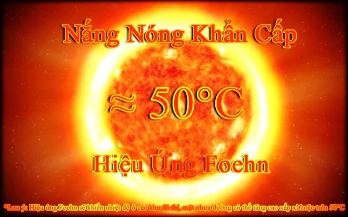 Tin nắng nóng và nắng nóng khẩn cấp ngày 30/05/2017