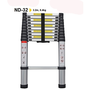 Thang nhôm rút đơn NINDA ND-32(3.2m)