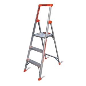 Thang nhôm ghế có tay vịn Little Giant Flip-N-Lite 5' Platform Ladder