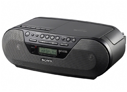 Máy phát đĩa CD Radio Cassette Sony CFD-S07CP