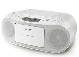 Đài Cassette Sony CFD-S50(Màu trắng)