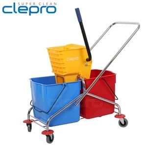Xe đẩy vắt cây lau nhà 2 ngăn CLEPRO CP -043